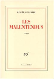 Cover of: Les malentendus