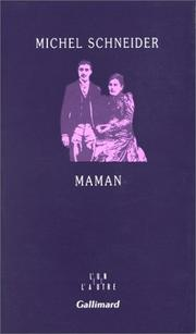 Cover of: Maman | Michel Schneider