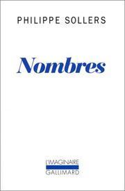 Cover of: Nombres