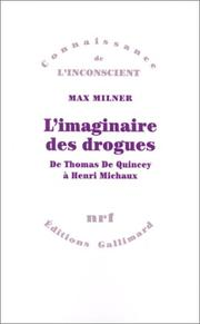 Cover of: L' imaginaire des drogues