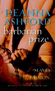 Cover of: Barbarian Prize | Deanna Ashford