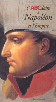 Cover of: L'ABCdaire de Napoléon et l'Empire