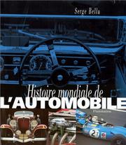 Cover of: Histoire mondiale de l'automobile