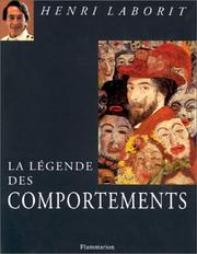 Cover of: La légende des comportements