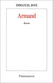 Cover of: Armand