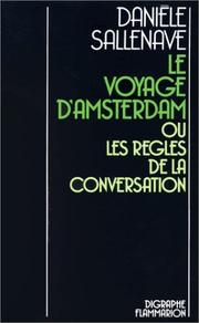 Cover of: Le voyage d'Amsterdam