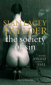 Cover of: The Society of Sin (Black Lace) | Sian Lacey Taylder