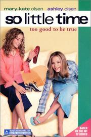 Cover of: Too good to be true