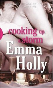 Cover of: Cooking Up A Storm (Black Lace) | Emma Holly