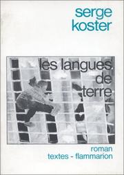 Cover of: Les langues de terre