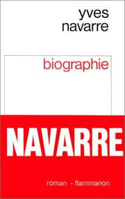 Cover of: Biographie