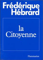 Cover of: La citoyenne