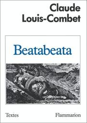 Cover of: Beatabeata