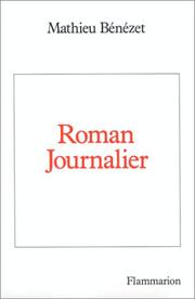 Cover of: Roman journalier