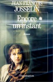 Cover of: Encore un instant