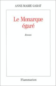 Cover of: Le monarque égaré