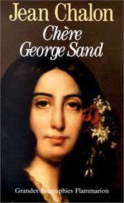 Cover of: Chère George Sand