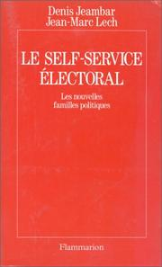 Cover of: Le self-service électoral