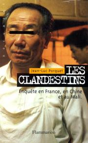Cover of: Les clandestins