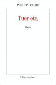 Cover of: Tuer etc