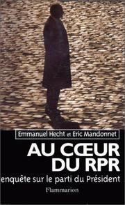Cover of: Au cœur du RPR