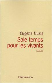 Cover of: Sale temps pour les vivants