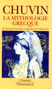 Cover of: La mythologie grecque