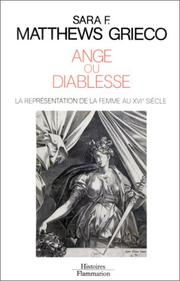 Cover of: Ange ou diablesse