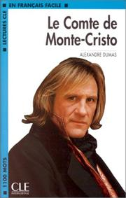 Cover of: Le Comte De Monte Christo