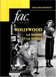 Cover of: Hollywood, la norme et la marge