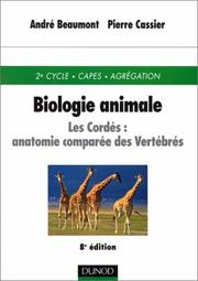 Cover of: Biologie animale