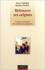 Cover of: Retrouver ses origines