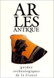 Cover of: Arles antique