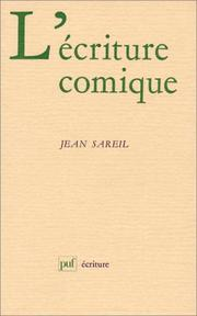 Cover of: L' écriture comique