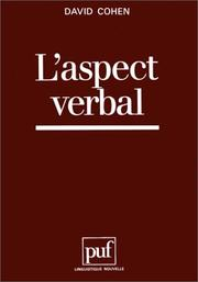 Cover of: L' aspect verbal
