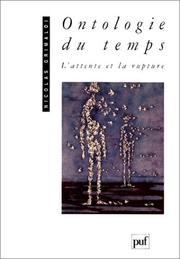 Cover of: Ontologie du temps