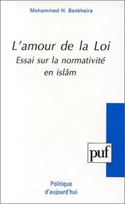 Cover of: L' amour de la loi