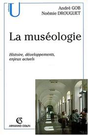 Cover of: La muséologie