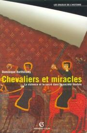 Cover of: Chevaliers et miracles