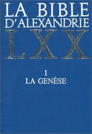 Cover of: La Bible d'Alexandrie by