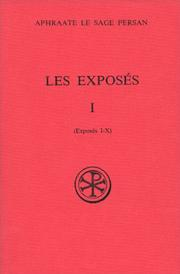 Cover of: Les exposes (Sources chretiennes)