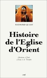 Cover of: L' Eglise d'Orient