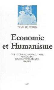 Cover of: Economie et humanisme