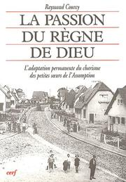 Cover of: La passion du règne de Dieu