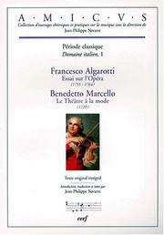 Cover of: Saggio sopra l'opera in musica