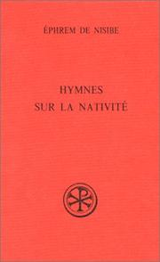 Cover of: Hymnes sur la nativité