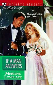 Cover of: If A Man Answers | Merline Lovelace