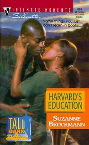 Cover of: Harvard's Education (Tall, Dark And Dangerous)