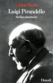 Cover of: Luigi Pirandello, sicilien planétaire