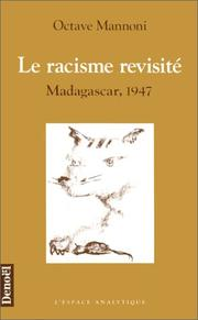 Cover of: Le racisme revisité